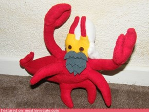 Hand sewn Iraq Lobster toy