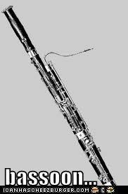 bassoon...