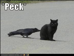 *Peck*