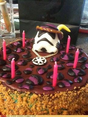 Stormtrooper Pimp Cake