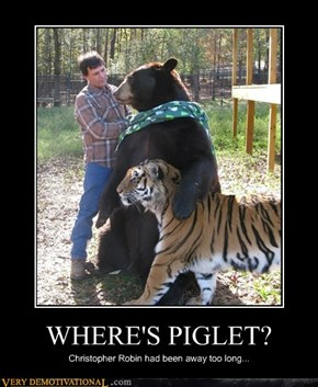WHERE'S PIGLET?