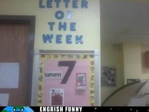 Lucky Letter 7