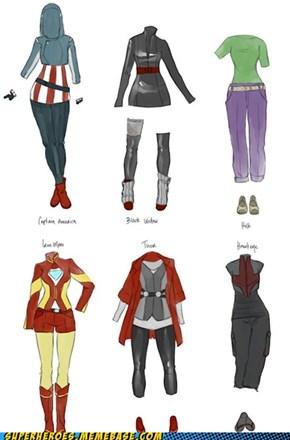Amazing Avenger Fashions!