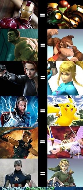 Super Smash Avengers