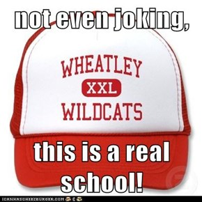 not even joking,  this is a real school!