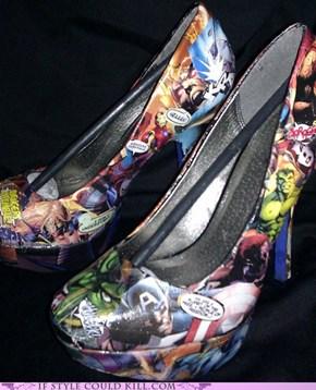 Avengers Heels!