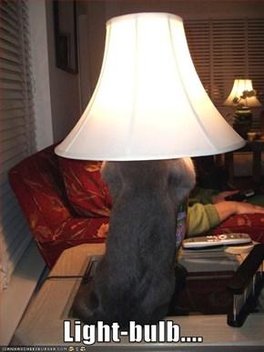 Light-bulb....