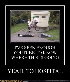 YEAH, TO HOSPITAL