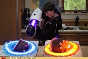 Epic Portal Cake