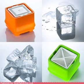 Polar Ice Crystal Clear Ice Cube Tray