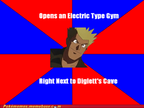 Gym Trainer Logic - Lt. Surge
