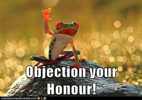 Objection your Honour!