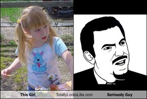 This Girl Totally Looks Like Seriously Guy