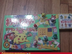 Old Japanese Pokemon game