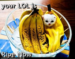 your LOL is  Ripe Now