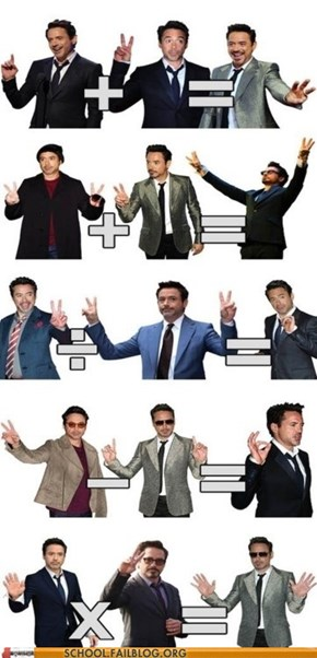 Robert Downey Jr. Teaches Math Now