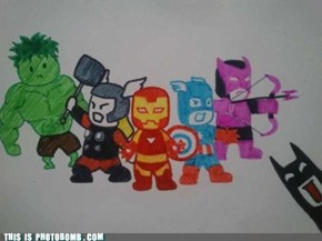 Not Invited to the Avengers