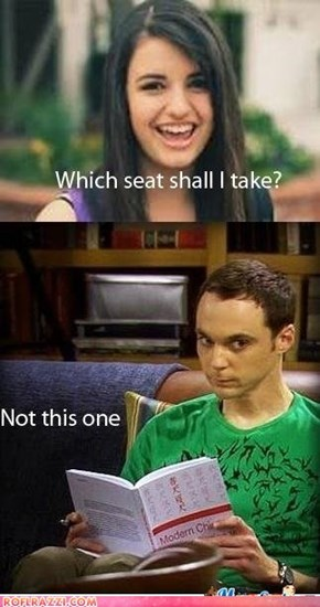 Sheldon is grumpy