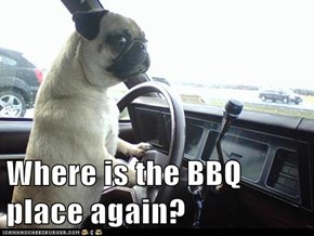 Where is the BBQ place again?