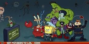 SpongeBob Avengers