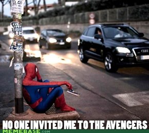 Maybe they would like you more if you were 80's spidey?