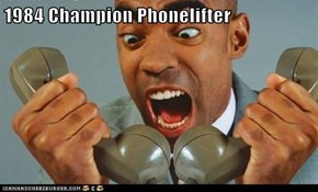 1984 Champion Phonelifter