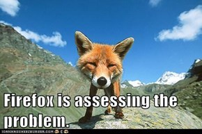 Firefox is assessing the problem.