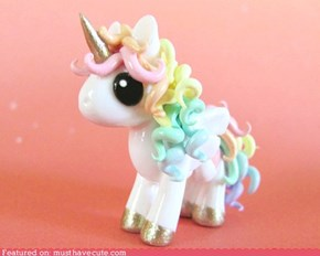 Rainbow Unicorn Figurine