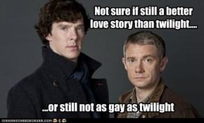 Not sure if still a better love story than twilight....