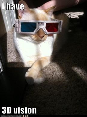 i have  3D vision