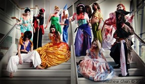 Zombified Princesses