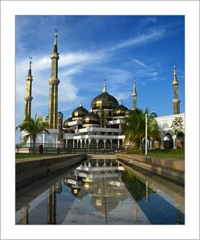 The Crystal Mosque, Kuala Terengganu, Malaysia