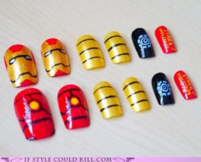 Avengers Press-On Nails!