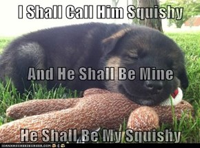 I Shall Call Him Squishy And He Shall Be Mine He Shall Be My Squishy