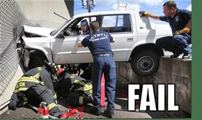 Driving FAIL