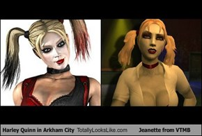 Harley Quinn in Arkham City Totally Looks Like Jeanette from VTMB