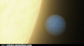 The Light of a Super Earth