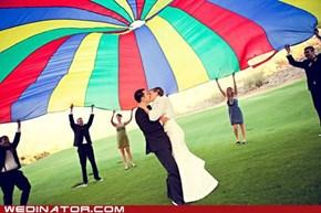 Recess Wedding!