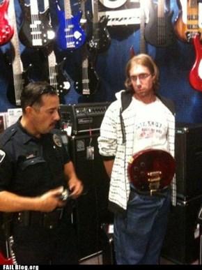 Shoplifting FAIL