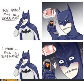 Batman Best Be Careful How He Answers the Batphone