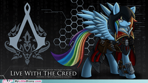 Wouldn't Rainbow Dash be the Best Assassin?