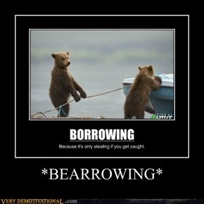 *BEARROWING*