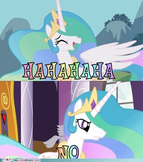 Celestia is amused