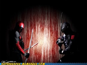 Deadpool vs Snake Eyes