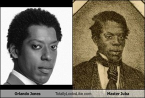 Orlando Jones Totally Looks Like Master Juba