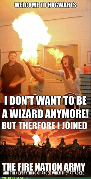 Try firebending they said? Nailed it!
