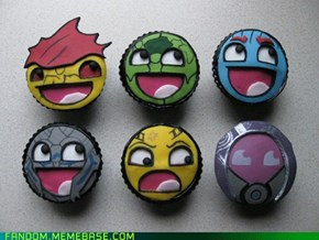 Awesome Mass Effect Cupcakes