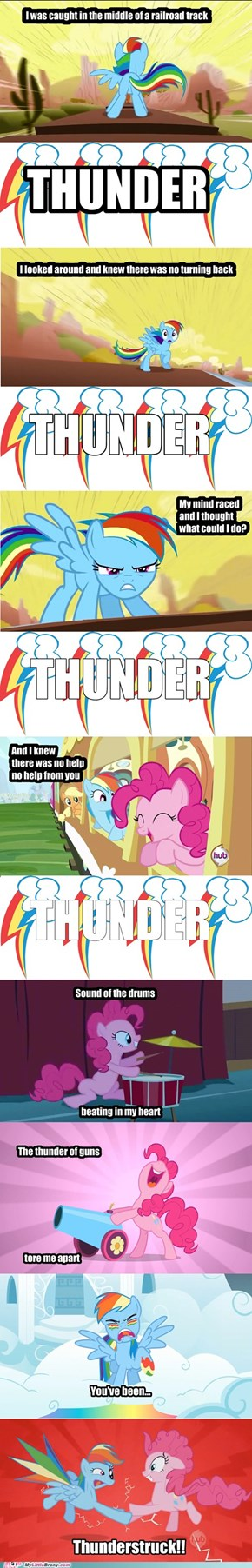 Of course RainbowDash can wail!