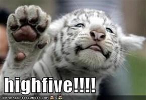 highfive!!!!
