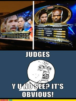 Pacquiao vs Bradley Fight
